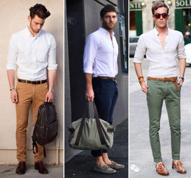 白衬衫的5种不同穿法:轻松变型穿搭