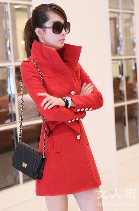 过年要穿红!春节20款红色服装搭配