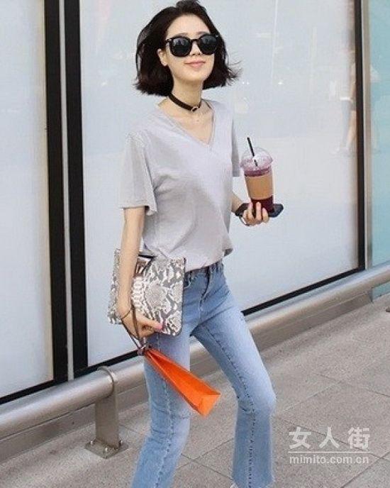 简单的清新牛仔裤,不简单的时尚经典