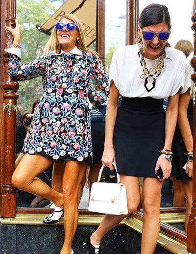 华伦天奴最美街拍 达人的时尚穿搭